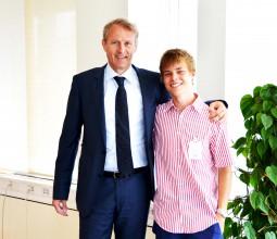 Vattenfall interview – Stockholm, Sweden (Philip Sallerfors and Øystein Løseth, CEO Vattenfall)