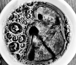 A black coffee, please.